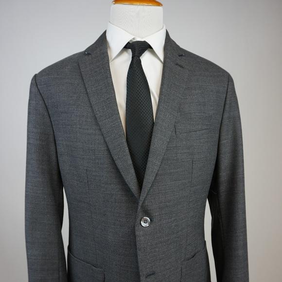 6d0e3c8bc388 Banana Republic Modern Slim Fit Sportcoat 46R Gray